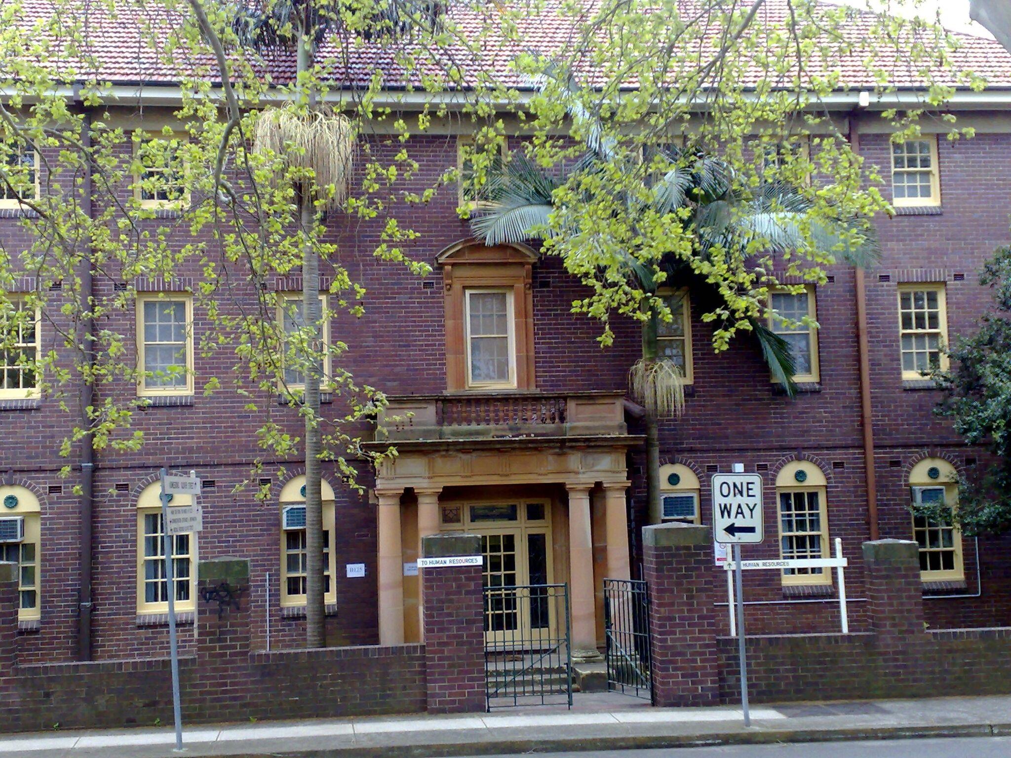 Former Rozelle Hospital