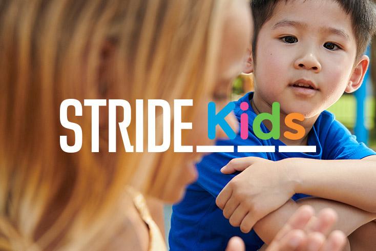 Stride Kids Mental Health Services Logo