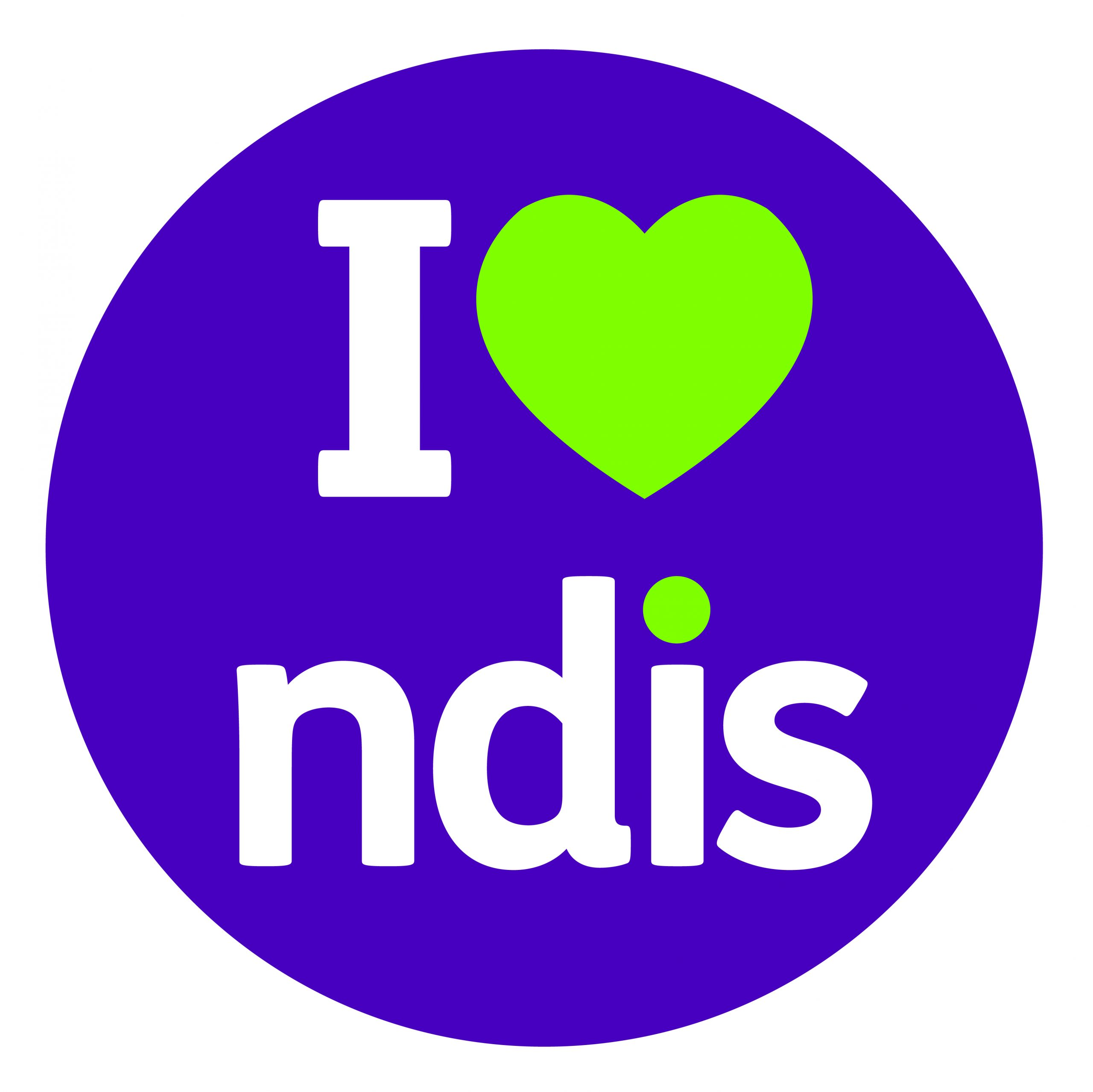 I Love NDIS Logo