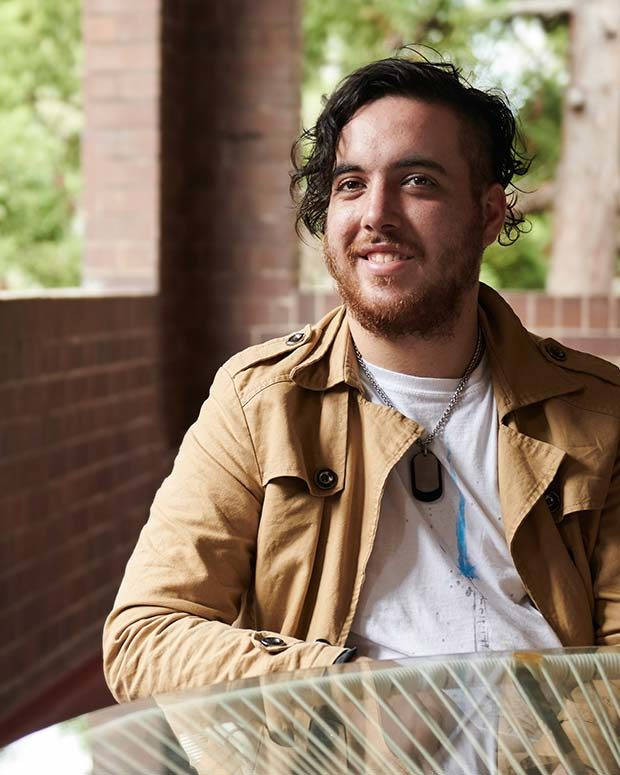 Man Smiling at Lilyfield